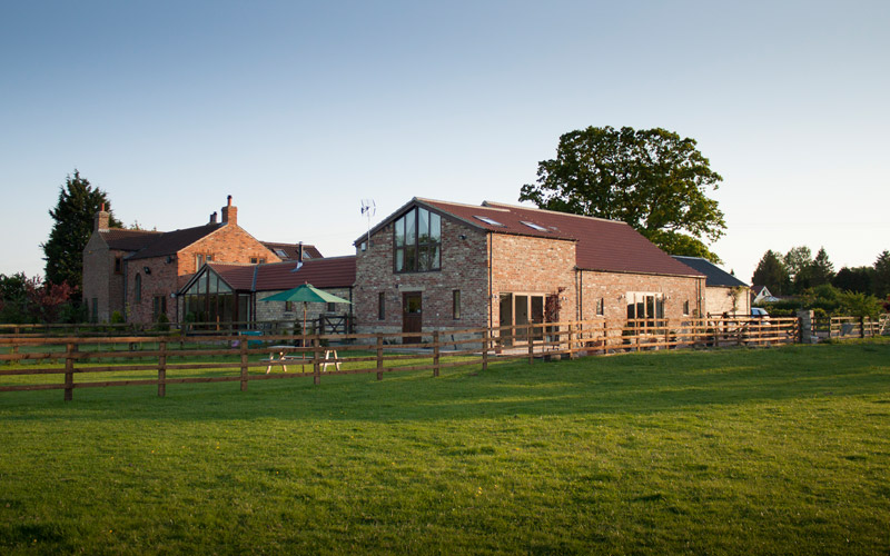 Tockwith Lodge Barn in June