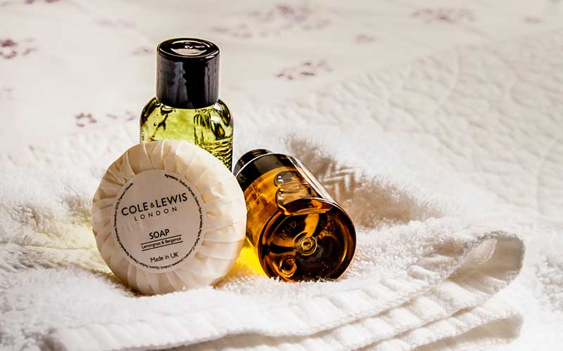 Tockwith Lodge Barn soaps and shampoos